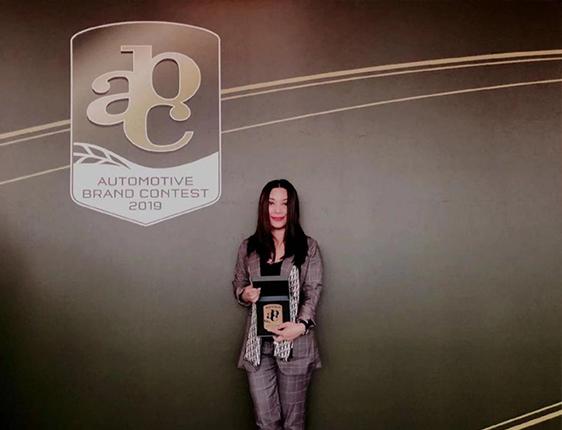 "RXF -""Design Award""of Automotive Brand Contest"